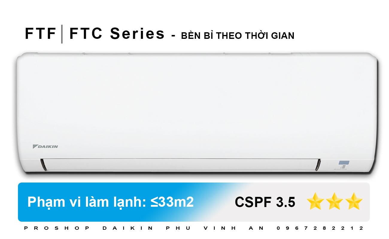 Điều Hòa Daikin FTC60NV1V - 2.5 HP