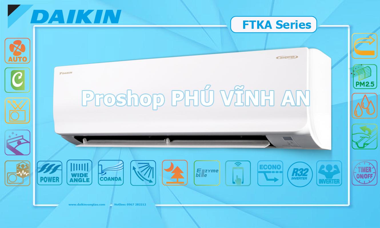 Điều Hòa Daikin Inverter FTKA25UAVMV - 1HP