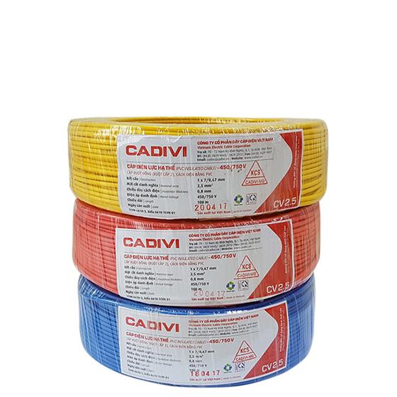 Dây điện Cadivi CV2.0