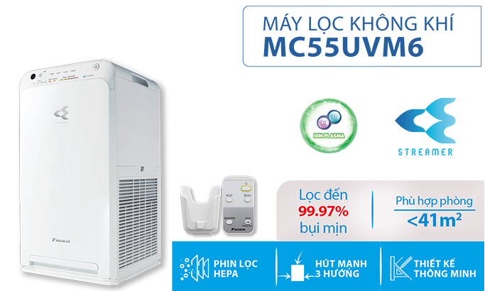 MÁY LỌC KHÔNG KHÍ MC55UVM6