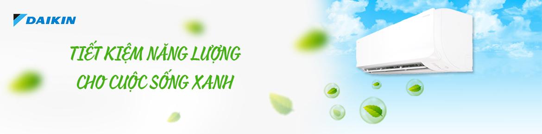 Daikin - Tiết kiệm điện cho cuộc sống xanh